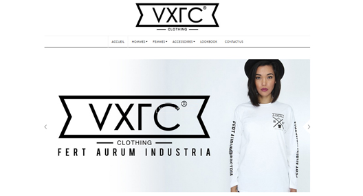Site VXLC-Clothing.com