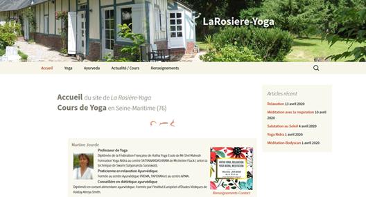 Site Larosière-Yoga.fr